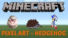 44. Learn how to make a Hedgehog in MINECRAFT! Click on the image to see the video :D