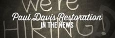 Paul Davis In the News! Hurricane Jobs - See Paul Davis Restoration featured on Fox & Friends for new hires!