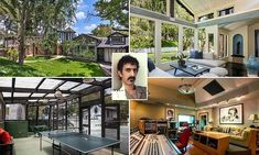 Rock And Roll History, American Mansions, Hollywood Hills Homes, Laurel Canyon, Frank Zappa, Los Angeles California, Composers, Musicians, Mothers