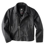 $40 Rock and Republic Faux-Leather Motorcycle Jacket - Boys 4-7x