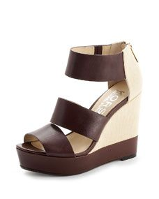 KORS Michael Kors Collie Wedge Sandal