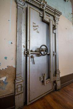 Image result for inside a bank vault