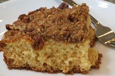 Pecan Mascarpone Coffeecake