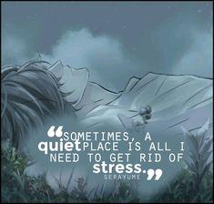 Death Note || Às vezes, um lugar calmo é tudo que eu preciso para me livrar do estresse