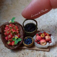 2017, Summer fruits Miniature♡ ♡ a y Le Mini di Claudia