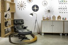 Have you seen the new all-black Eames Lounge Chair? Pop into our Sheffield showroom to see one in the flesh!