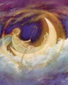Moonboat to Dreamland - by Hugh Williams - always wanted this over my bed