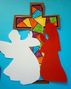 Προσχολική Παρεούλα : Η πιο χαρμόσυνη είδηση .. ( Ευαγγελισμός της Θεοτόκου ) 25 March, School, Blog, Blogging