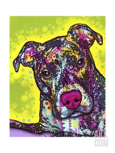 Brindle Giclee Print by Dean Russo at Art.com
