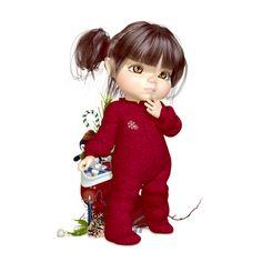 "Photo from album ""Новогодние куколки on Yandex. Cute Little Girls, Cute Kids, Cartoon Drawings, Cute Drawings, Art Mignon, Illustration Noel, Baby Drawing, Magical Christmas, Cute Images"