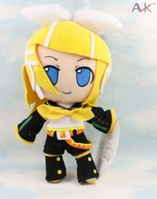 Japanese Anime Cartoon Vocaloid Hatsune Miku Kaito Plush Toy Doll 30cm stuffed dolls Girls Christmas Birthday Gift(China (Mainland))