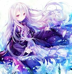 Find images and videos about art, anime and kawaii on We Heart It - the app to get lost in what you love. Loli Kawaii, Kawaii Anime Girl, Anime Art Girl, Manga Art, Anime Girls, Anime Sexy, Pretty Anime Girl, Beautiful Anime Girl, Chica Anime Manga