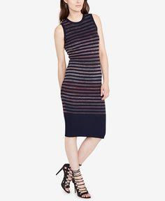 RACHEL Rachel Roy Striped Sweater Dress, Created for Macy's