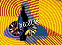 Cassandre-affiche-nicolas – Index Grafik Typo Design, Retro Design, Graphic Design, Pierre Bernard, Metro Paris, Image Form, How To Look Better, Creations, Art Deco