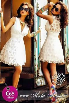 Pretty And Cute, Linen Dresses, Work Casual, Summer Wardrobe, Chic Outfits, Flare Dress, Designer Dresses, Fashion Dresses, White Dress