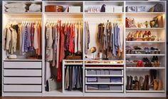Ikea, do not make me weak! The new walk-in wardrobe- Ikea, mach mich nicht schwach! Der neue begehbare Kleiderschrank Ikea, do not make me weak! The new walk-in closet - Bedroom Closet Design, Master Bedroom Closet, Closet Designs, Bedroom Storage, Master Bedrooms, Ikea Pax Wardrobe, Bedroom Wardrobe, Wardrobe Closet, Ikea Pax Closet
