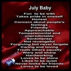 Birth month...July  I love to be alone sometimes yes, but just to regenerate. Usually I'm being creative during these times, or contemplating the meaning of life.