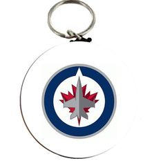 NHL Winnipeg Jets Keychain 2.25| www.balligifts.com Nfl Sports, Jets, Nhl, Christmas Bulbs, Holiday Decor, Christmas Light Bulbs, Fighter Jets