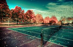 Tennis in Fall <3 one of the reasons fall is my favorite season