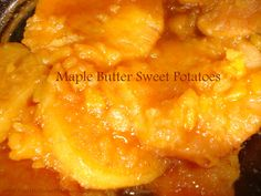 Maple Butter Sweet Potatoes...So delicious no one will ever guess it took you less than ten minutes to make!  www.YourLifeTodayMagazine.com