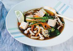 asian hot + sour soup