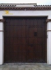 Spanish House, Spanish Style, Custom Gates, Carriage Doors, Rustic Doors, Mexican Style, My Dream Home, My House, Backyard