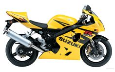 Motorcycle Suzuki Yellow Widescreen 2 HD Wallpapers | amagico.