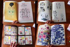 Mel Tak Fine Art book compiled by Yoshitomo Nara by girliepains