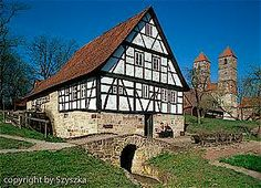 Wassermühle Karstmühle Kloster Veßra, Hildburghausen