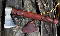 hand forged, French Bscayne colonial bag axe