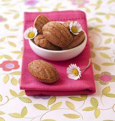 Madeleines à la farine de sarrasin et à la violette (sans gluten) - Recettes de cuisine Ôdélices
