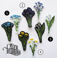 Новости Embroidery Patches, Floral Embroidery, Beaded Embroidery, Hand Embroidery, Diy Fashion Projects, Diy And Crafts, Paper Crafts, Lesage, Pin And Patches