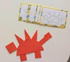 Dinosaurs Preschool, Dinosaur Activities, Dinosaur Crafts, Toddler Activities, Preschool Activities, Vocabulary Activities, Bumble Bee Cupcakes, Paper Plate Animals, Nursery Activities