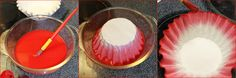 Coffee filters for Valentine's day decoration - Creative Side Of Life