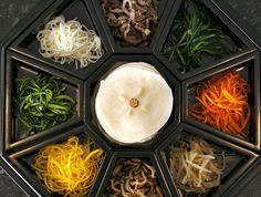 Gujeolpan (구절판): Dish of nine delicacies - Korean royal dish