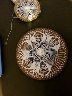 Tatting Patterns, Weaving Patterns, Needle Lace, Bobbin Lace, Tenerife, Circular Weaving, Dorset Buttons, Lace Weave, Weaving Yarn