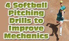 4 Softball Pitching Drills to Improve Mechanics