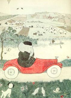 Jean de Brunhoff (French,1899 –1937) Author and illustrator of the Babar books