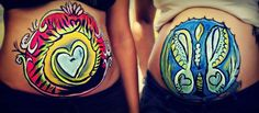 Bellypainting Art on Aruba Tiger Love Theme and Ocean Butterfly Theme.     I make amazing art on your belly for a unique keepsake of your pregnancy. I use only the best professional bodypaint it doesn't smudge and the colors stay vibrant!     Hypoallergenic, non-toxic and water based, the gentlest paint for your baby bump!    Email me info@arawakmuns.con