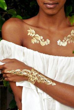 Flash Tattoos 'Sheebani'   The Orchid Boutique