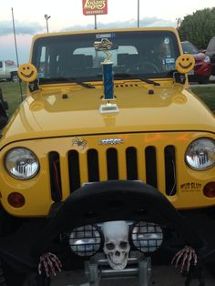 Our son Aaron, took first place JEEP night OCT 2013