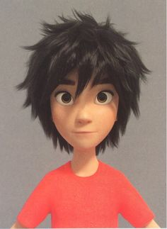 "Omg Hiro you're ""seriously""adorable"