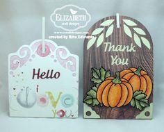 Elizabeth Craft Designs – October Designers' Challenge: Tags ...