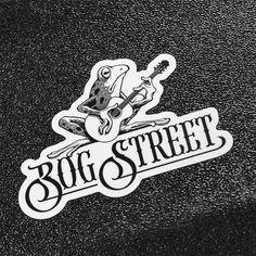 Bog Street Logo #musiclogo #logo