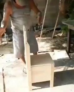 Diy Furniture Videos, Home Decor Furniture, Furniture Projects, Furniture Decor, Smart Furniture, Folding Furniture, Furniture Makeover, Woodworking Techniques, Woodworking Projects Diy
