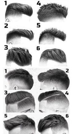 Mens Hairstyles With Beard, Cool Hairstyles For Men, Hair And Beard Styles, Hairstyles Haircuts, Haircuts For Men, Short Hair Styles, Hairstyle Men, Male Short Hairstyles, 1940s Mens Hairstyles