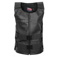 USA Leather Men's Asylum Vest - LeatherUp.com