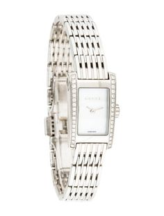 e6f6c2d3262 8600 Series Watch 945.00 Gucci Square Watch