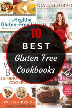 The 10 Best Gluten Free Cookbooks You Must Have in Your Kitchen