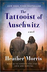 The Tattooist of Auschwitz by Heather Morris. This beautiful, illuminating tale of hope and courage is based on interviews that were conducted with Holocaust survivor and Auschwitz-Birkenau tattooist Ludwig (Lale) Sokolov. Holocaust Books, Book Club Books, New Books, Good Books, Fall Books, Book Clubs, Reading Lists, Book Lists, Historical Fiction